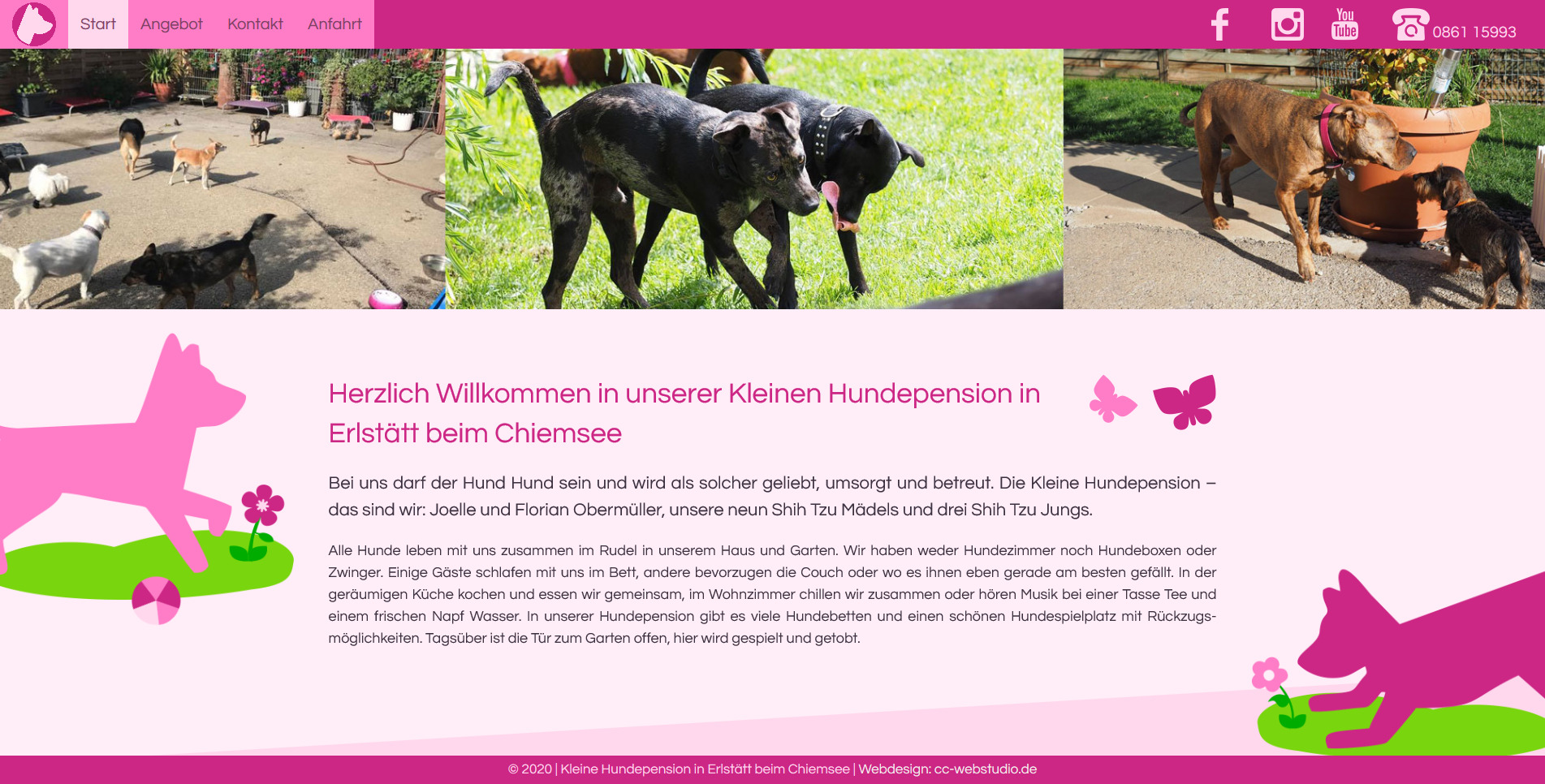 Kleine Hundepension