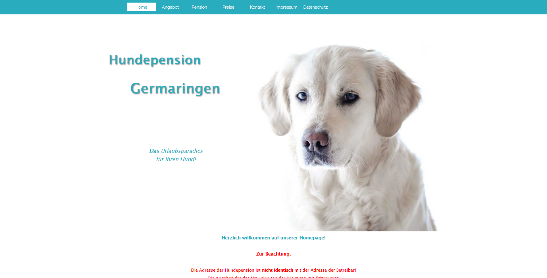 Hundepension Germaringen