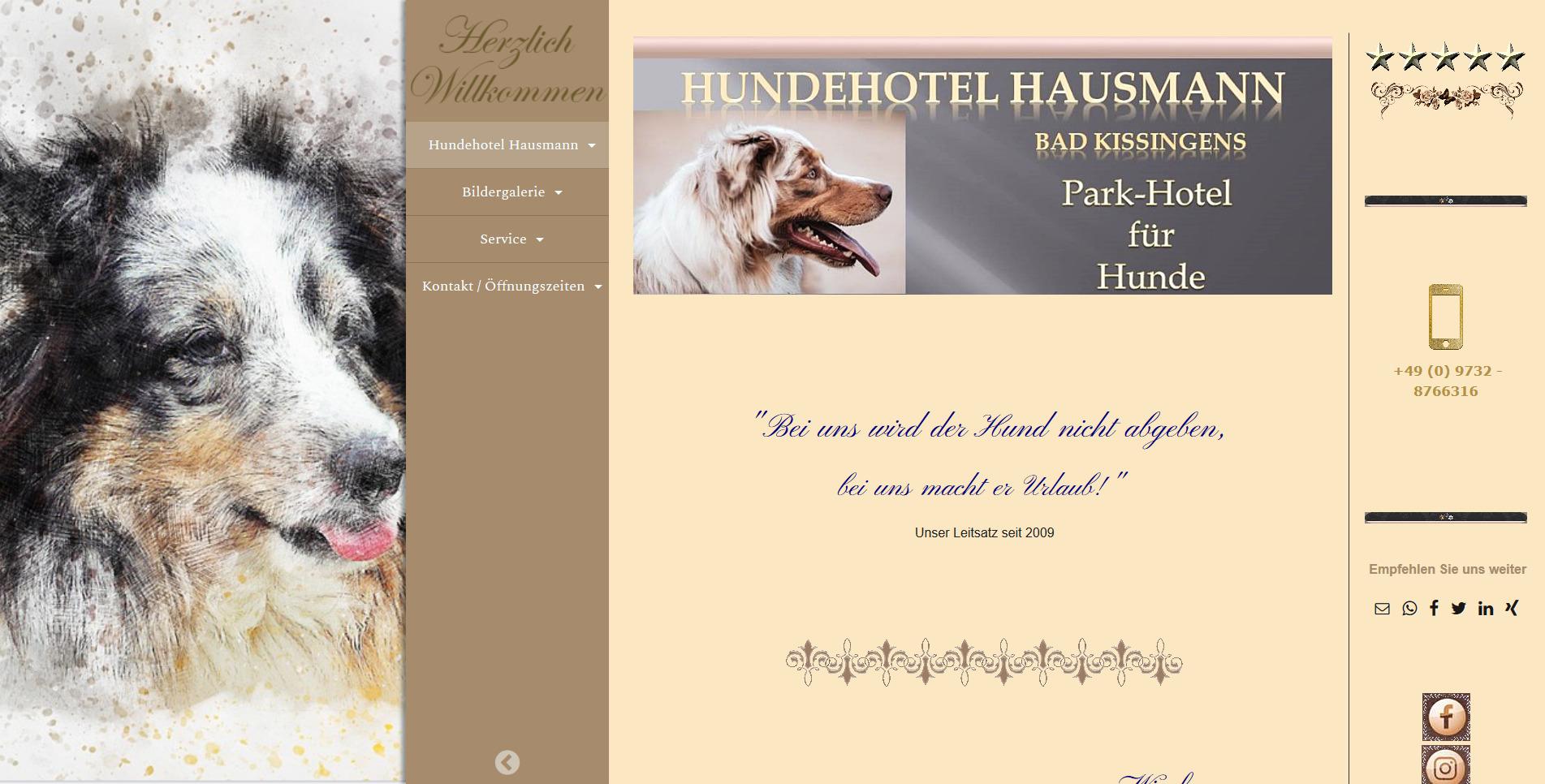 Hundehotel Hausmann