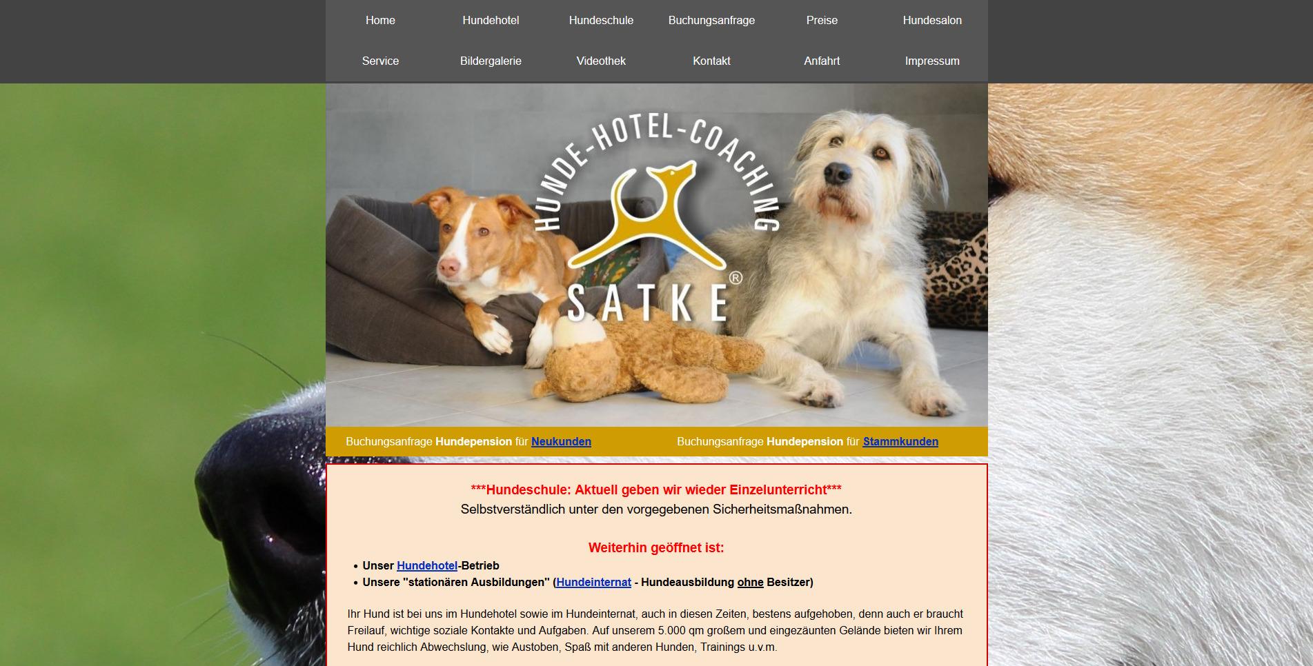 Hundehotel Satke
