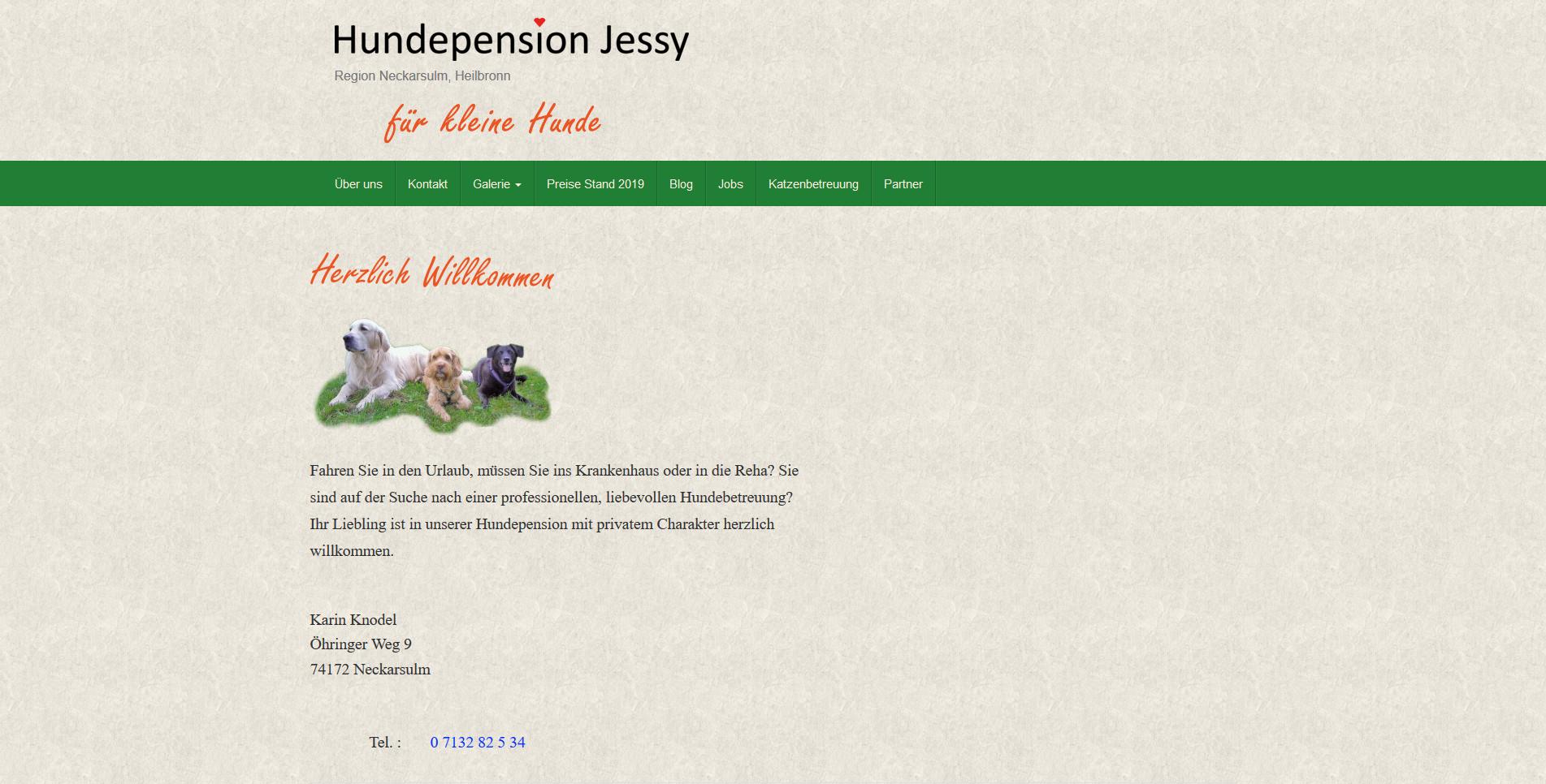 Hundepension Jessy