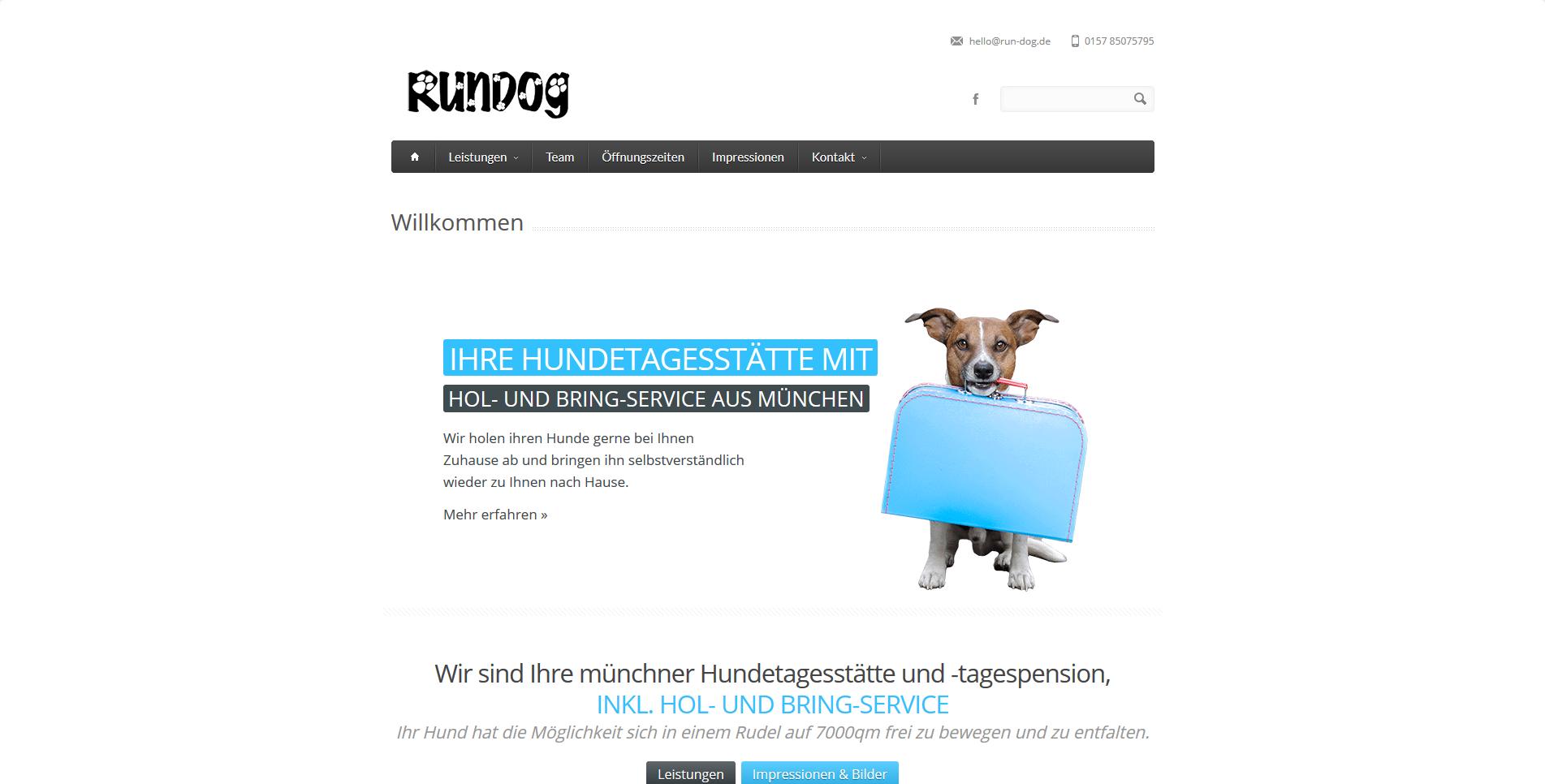 Rundog Hundebetreuung