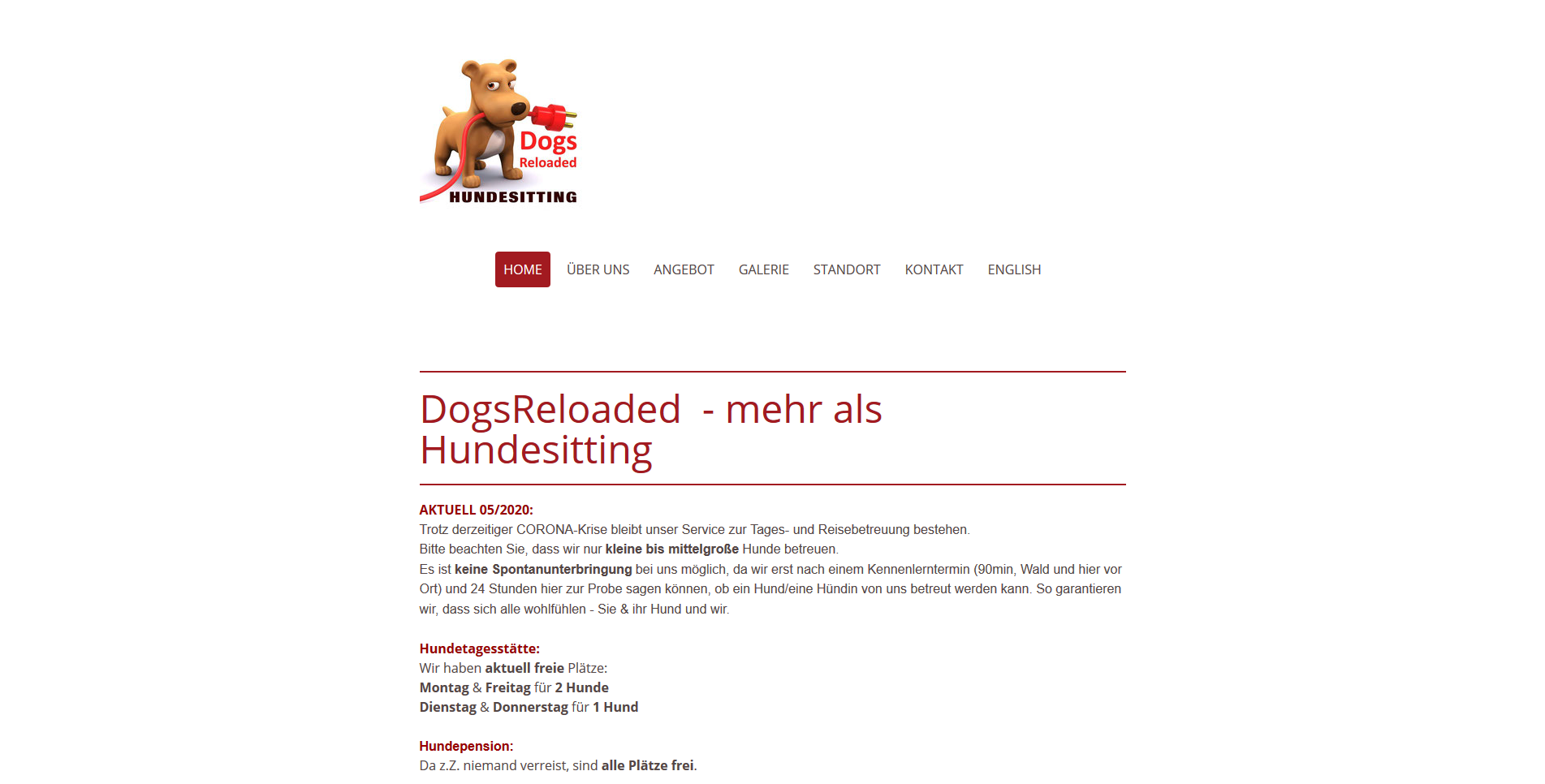 DogsReloaded Hundesitting