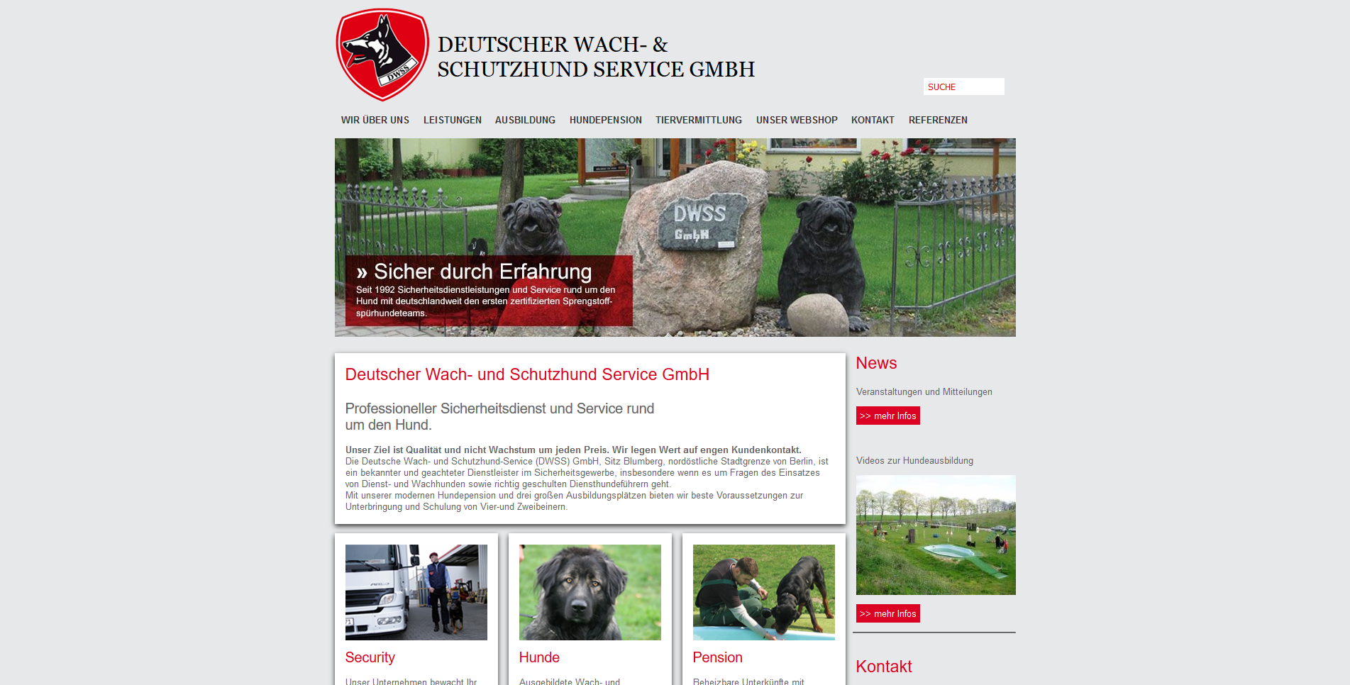 DWSS Hundepension