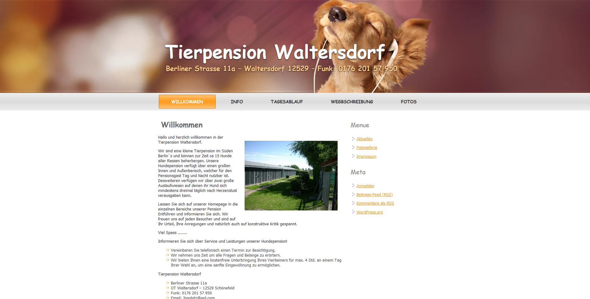 Tierpension Waltersdorf