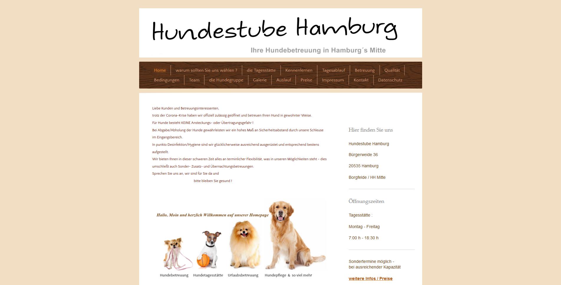 Hundestube Hamburg