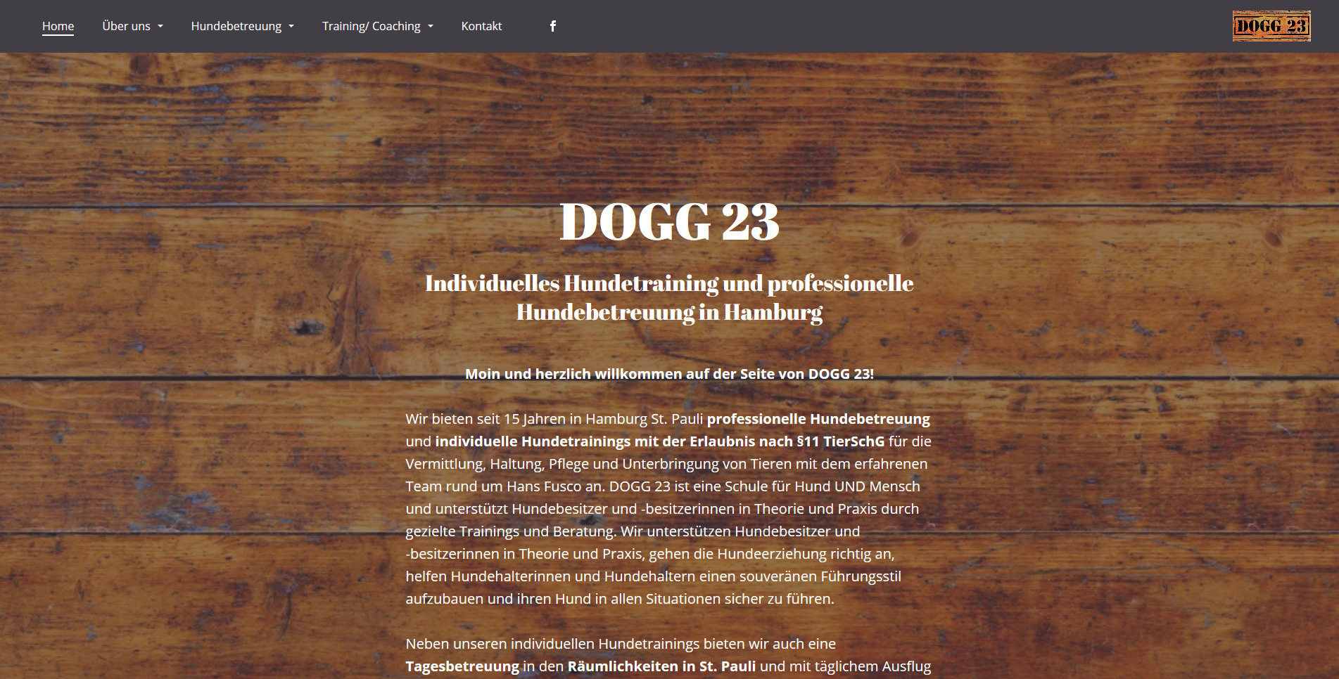Freiraum - professionelle Hundebetreuung