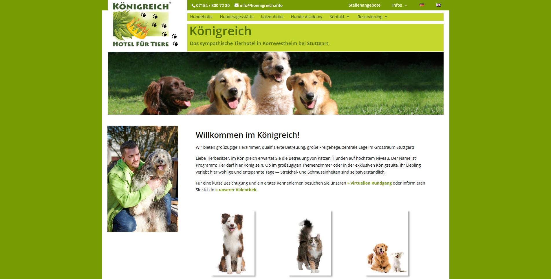 Königreich - Hotel für Tiere