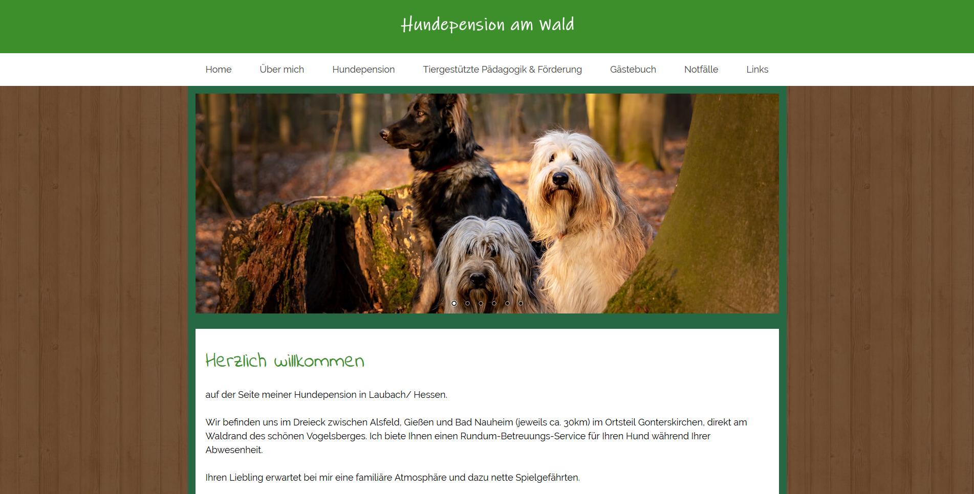 Hundepension am Wald