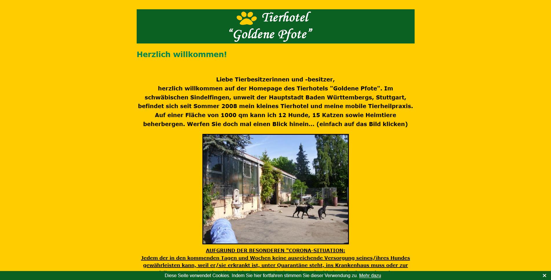 Tierhotel Goldene Pfote