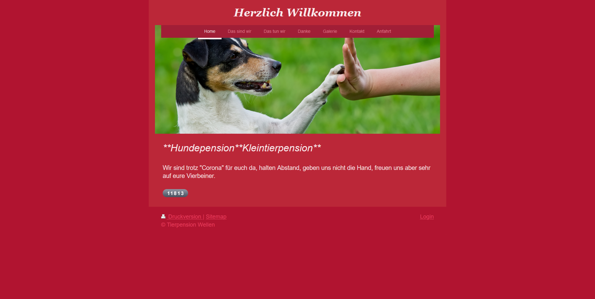 Tierpension Wellen