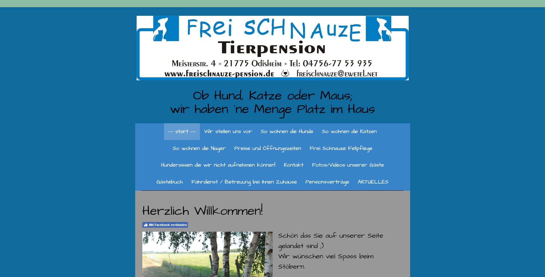 Tierpension Frei Schnauze