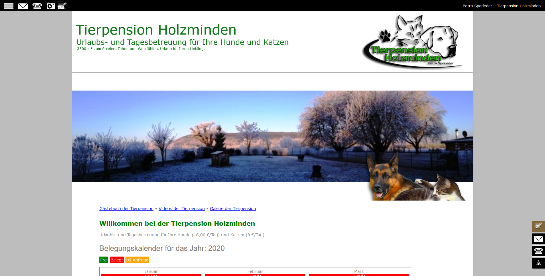 Tierpension Holzminden