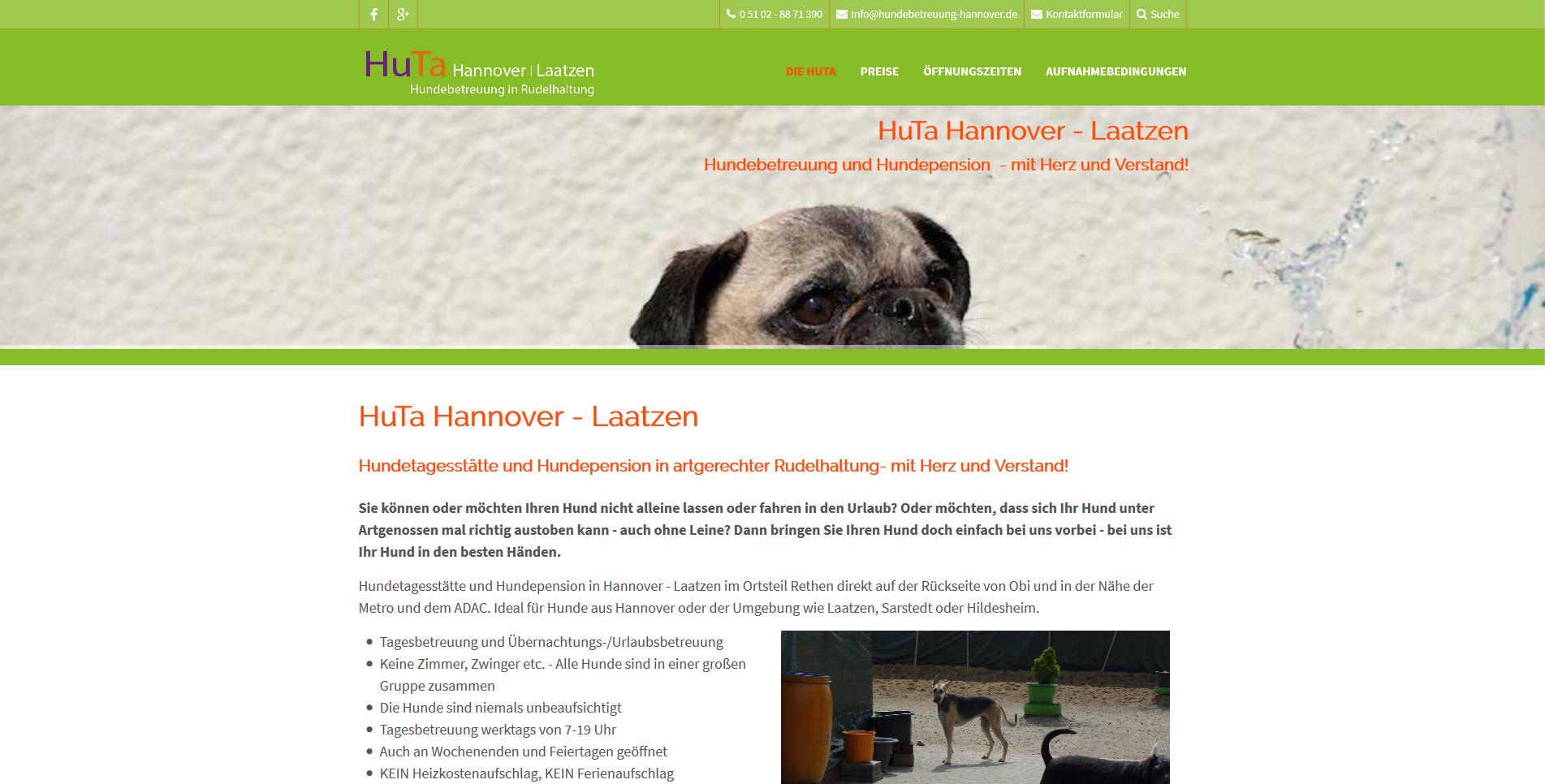 Hundetagesstätte (HuTa) Hannover