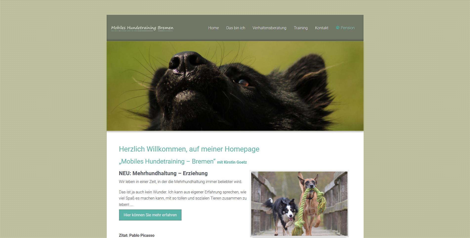 Mobiles Hundetraining Bremen