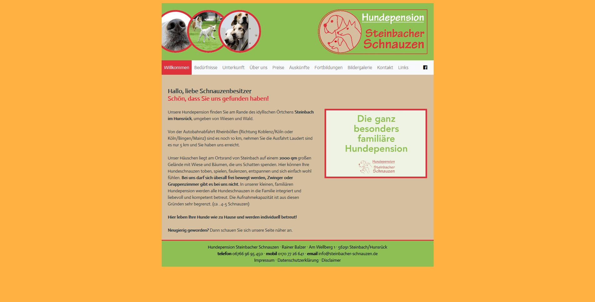 Hundepension Steinbacher Schnauzen
