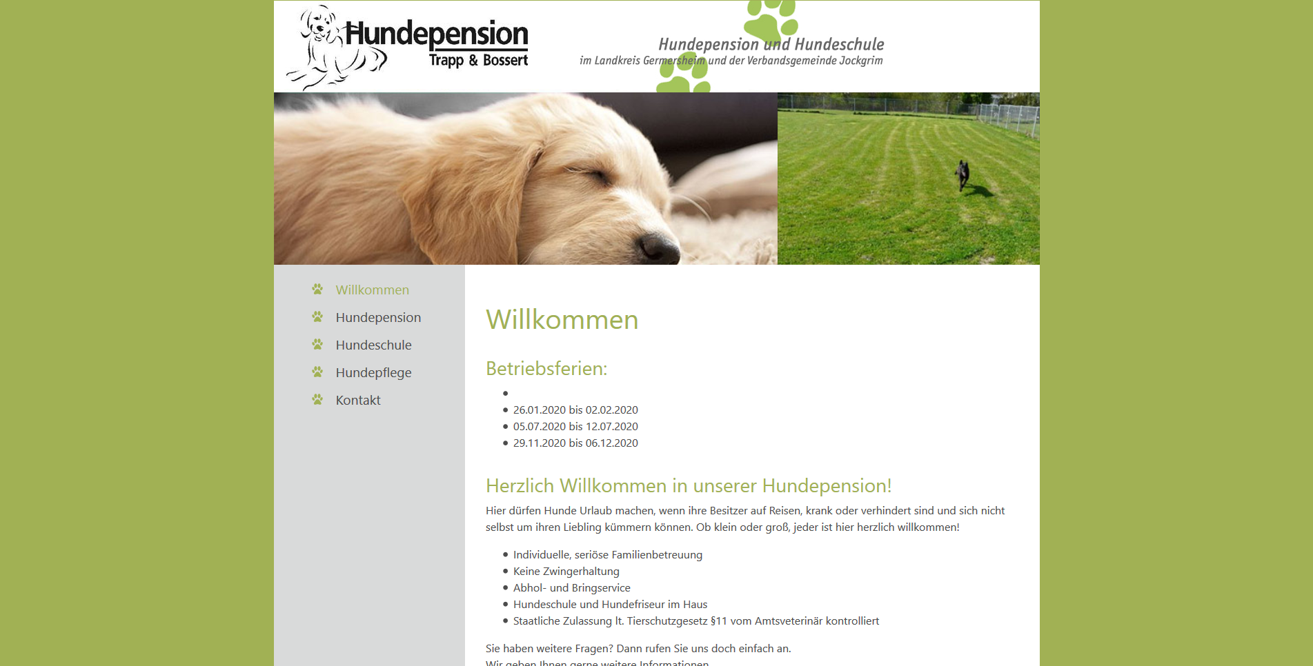 Hundepension Trapp & Bossert
