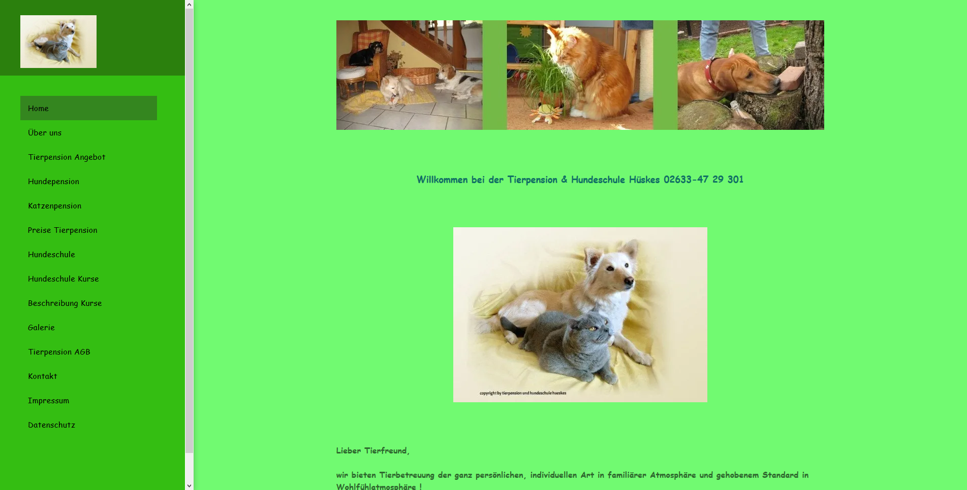 Tierpension und Hundeschule Hüskes