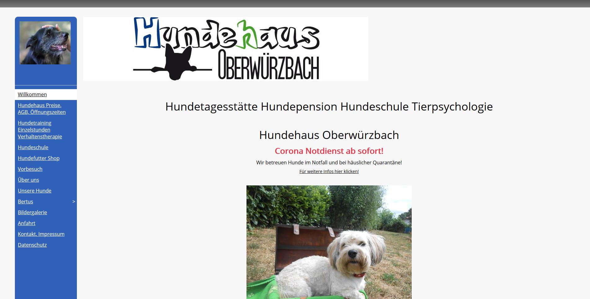 Hundehaus Oberwürzbach