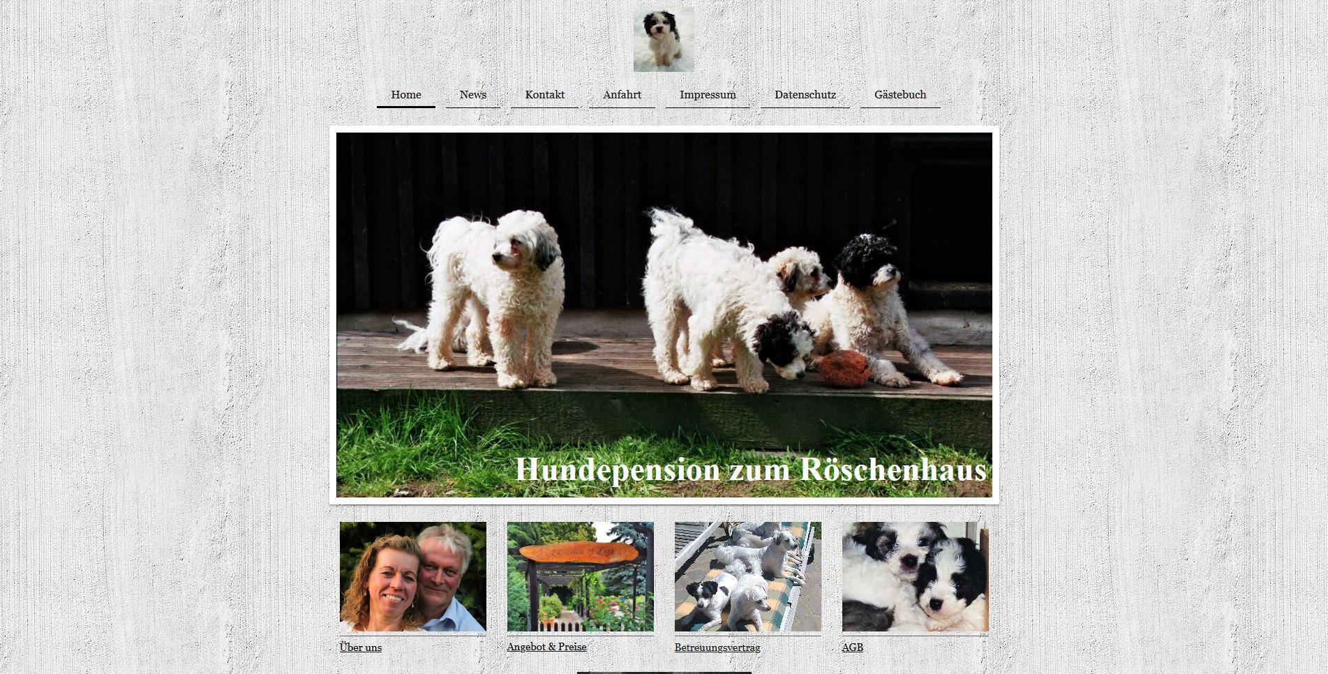 Hundepension zum Röschenhaus