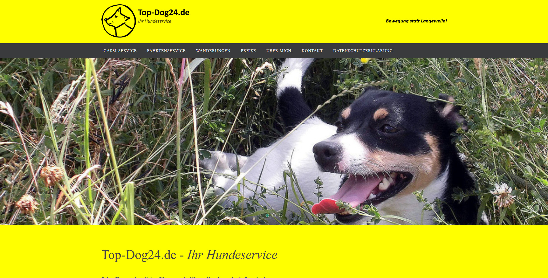 Top-Dog24.de - Ihr Hundeservice