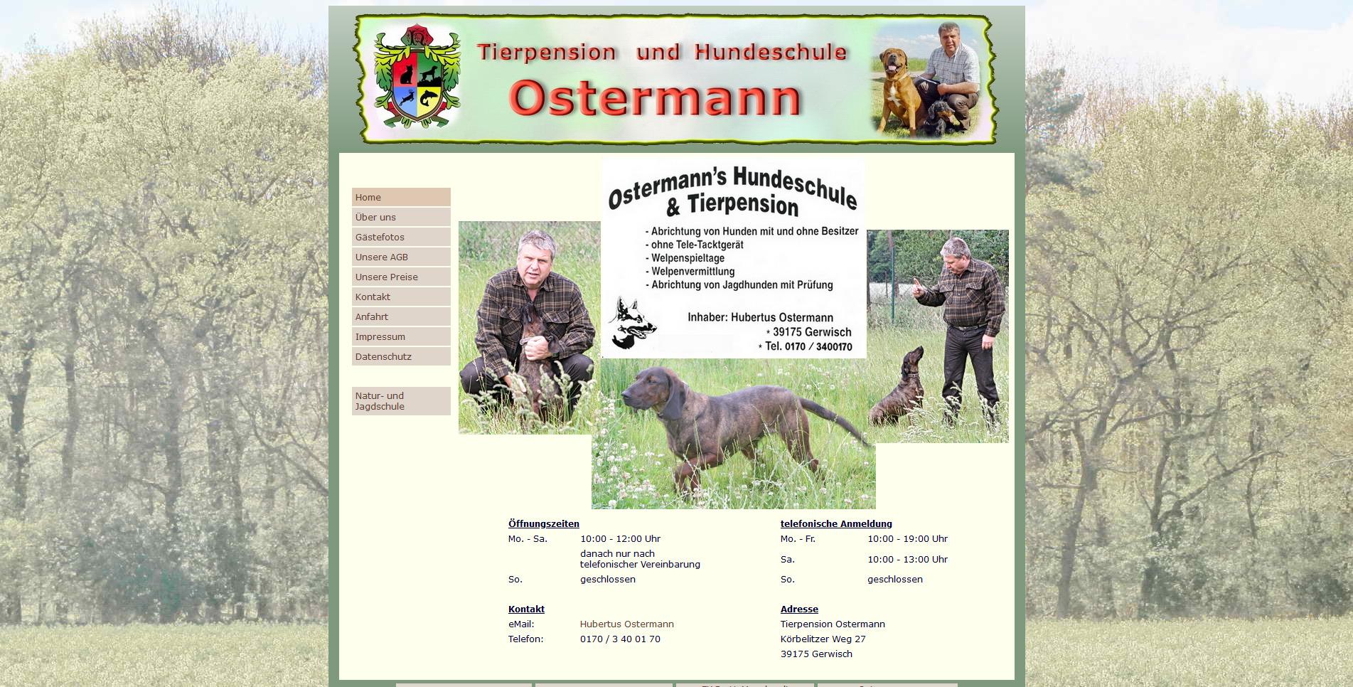 Ostermanns Tierpension
