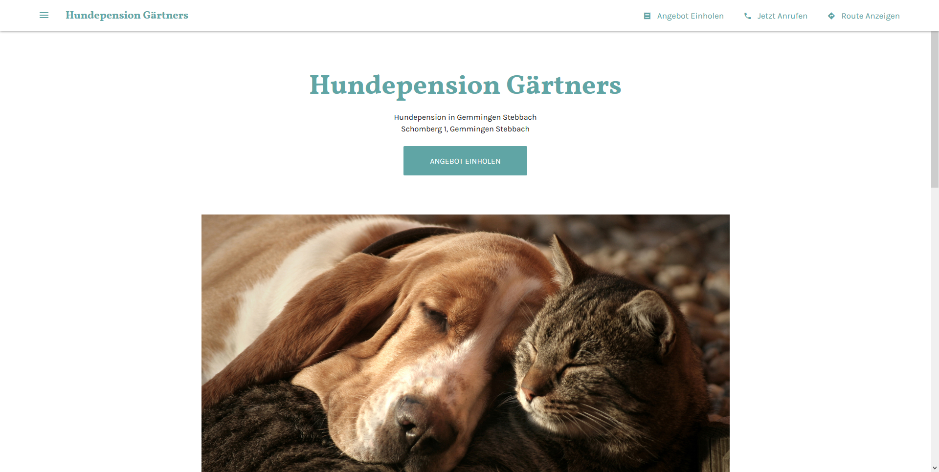 Hundepension Gärtners