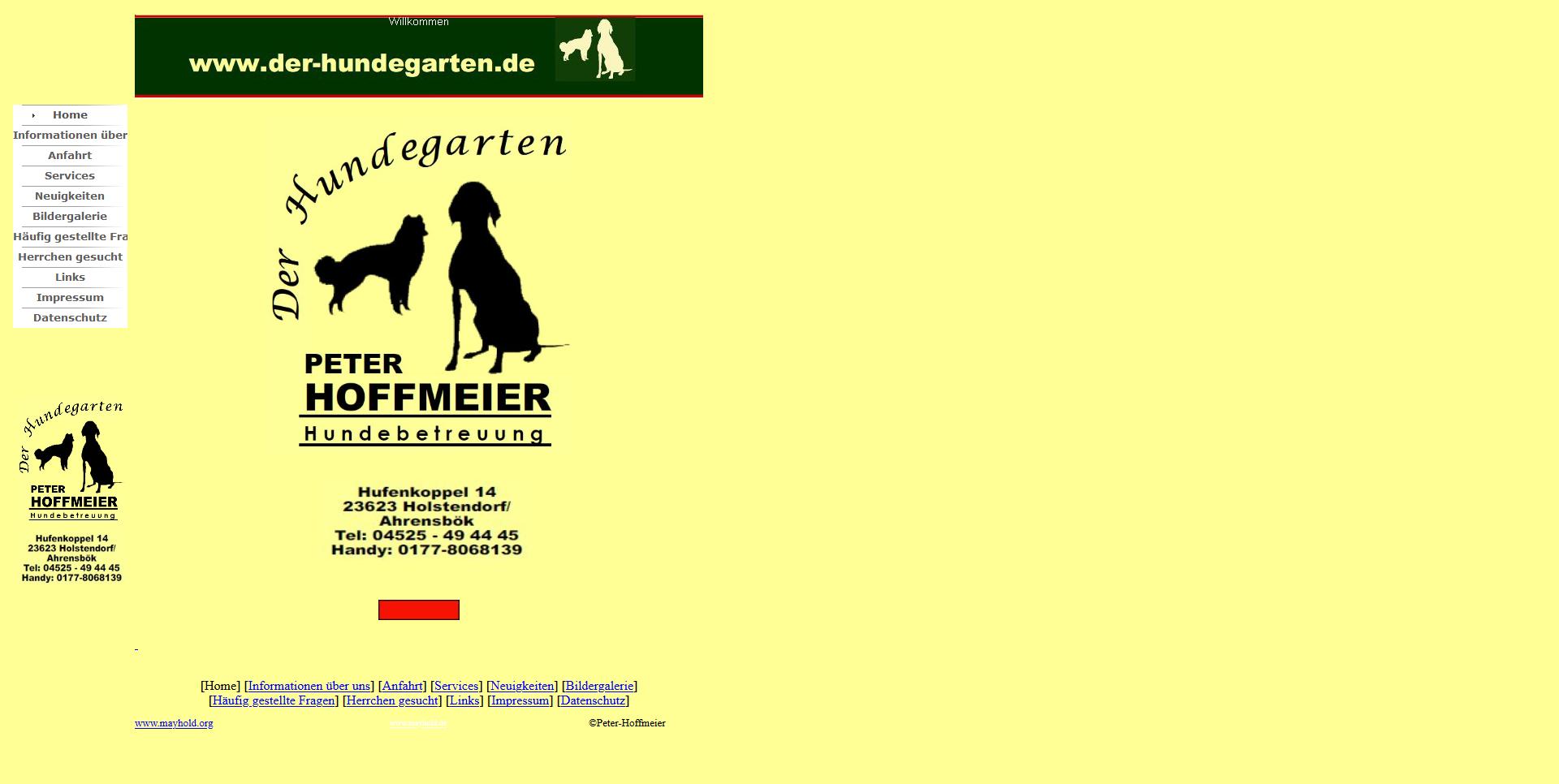 Der Hundegarten-Hoffmeier