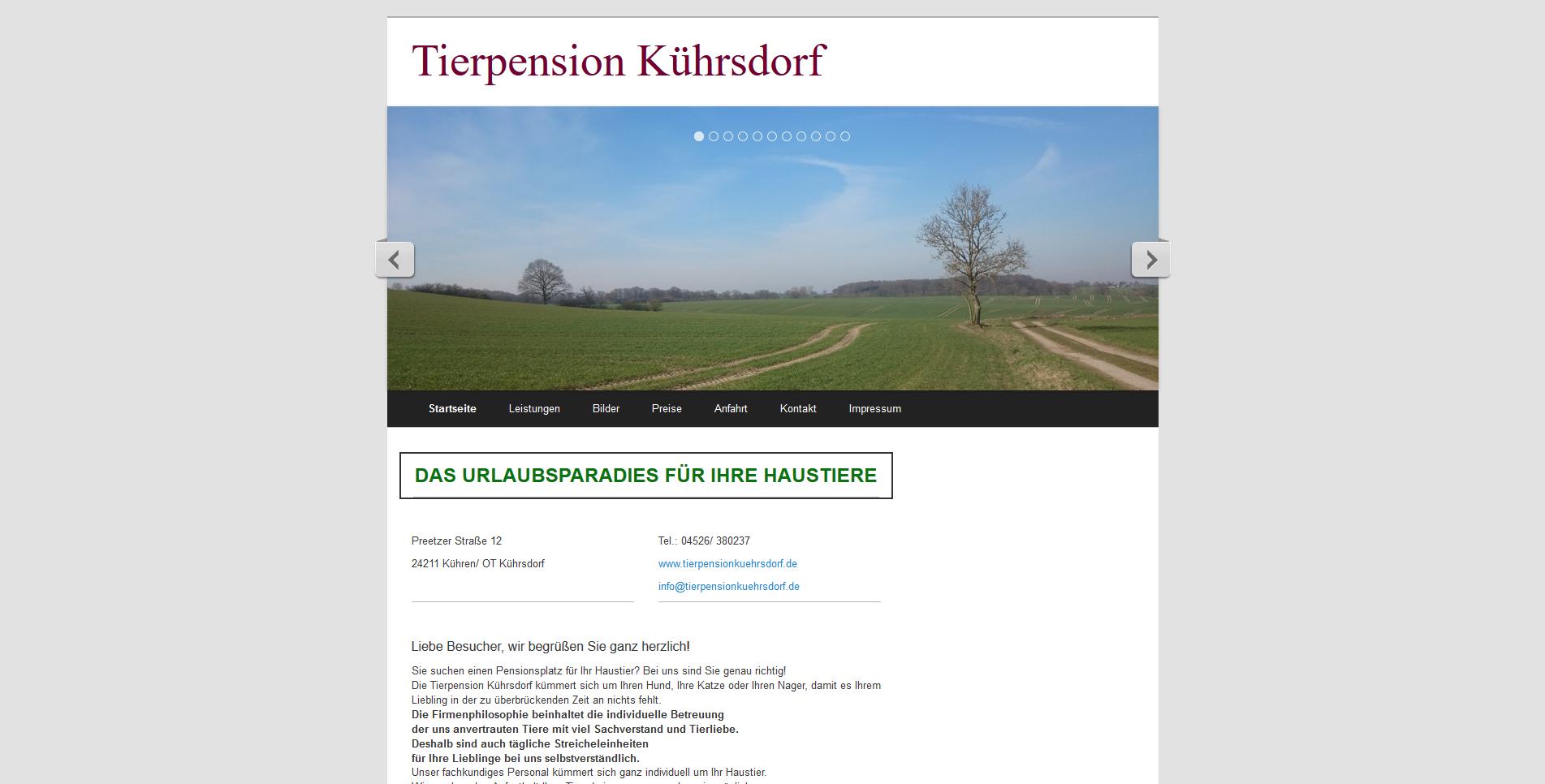Tierpension Kührsdorf
