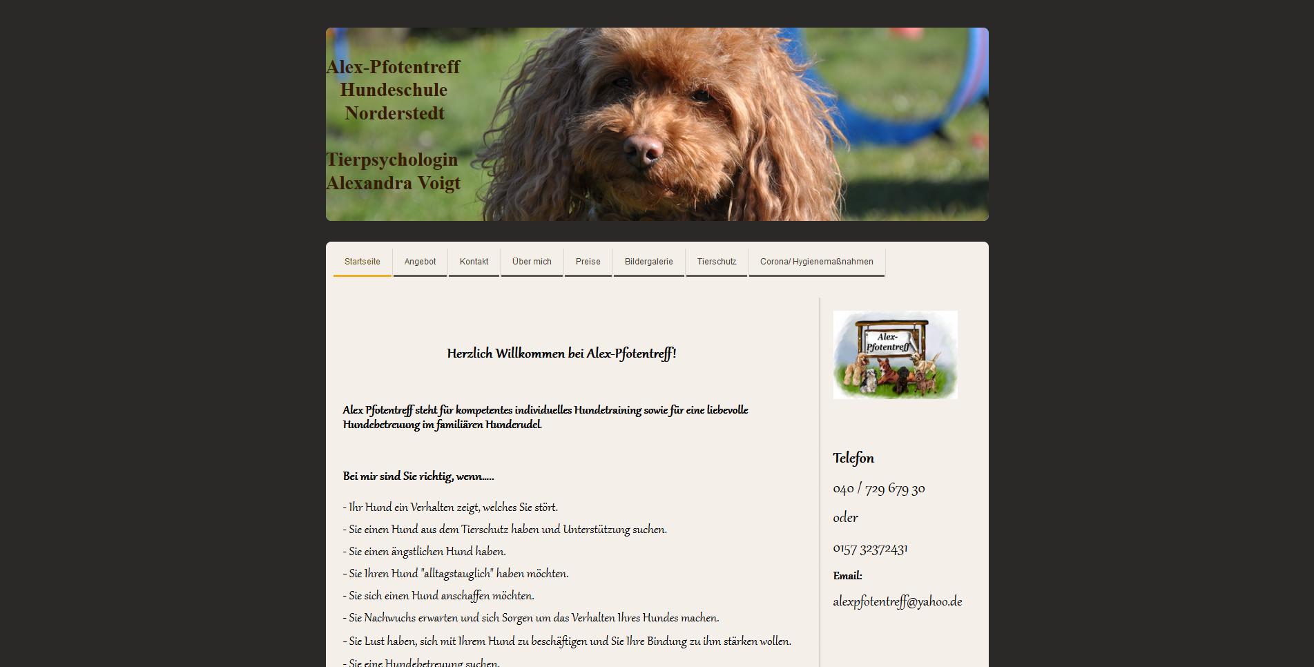 Hundeschule Alex-Pfotentreff