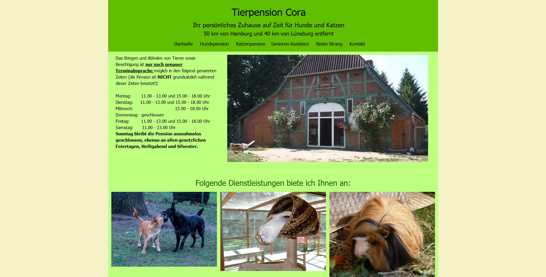 Tierpension Cora