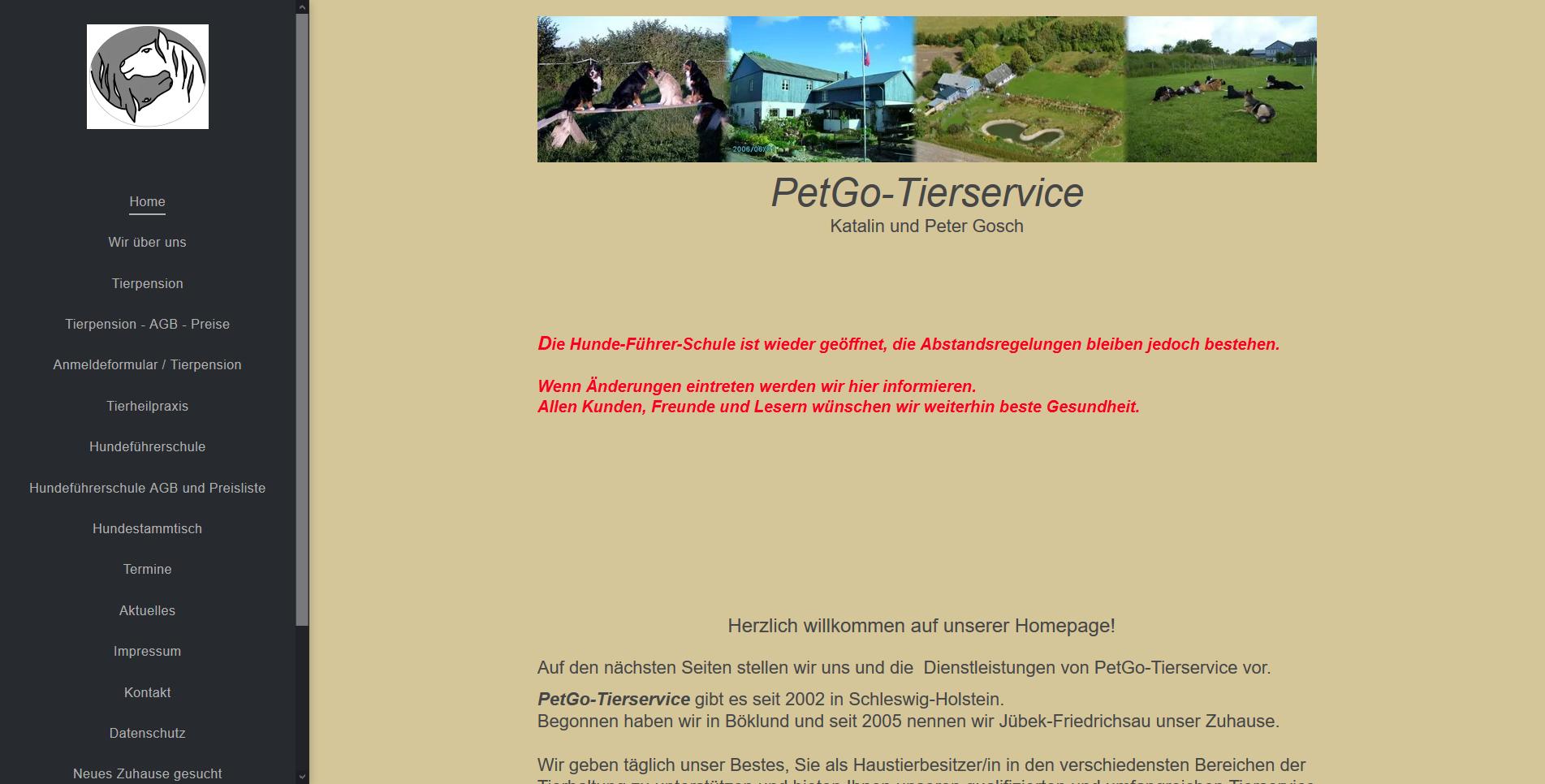 PetGo-Tierservice