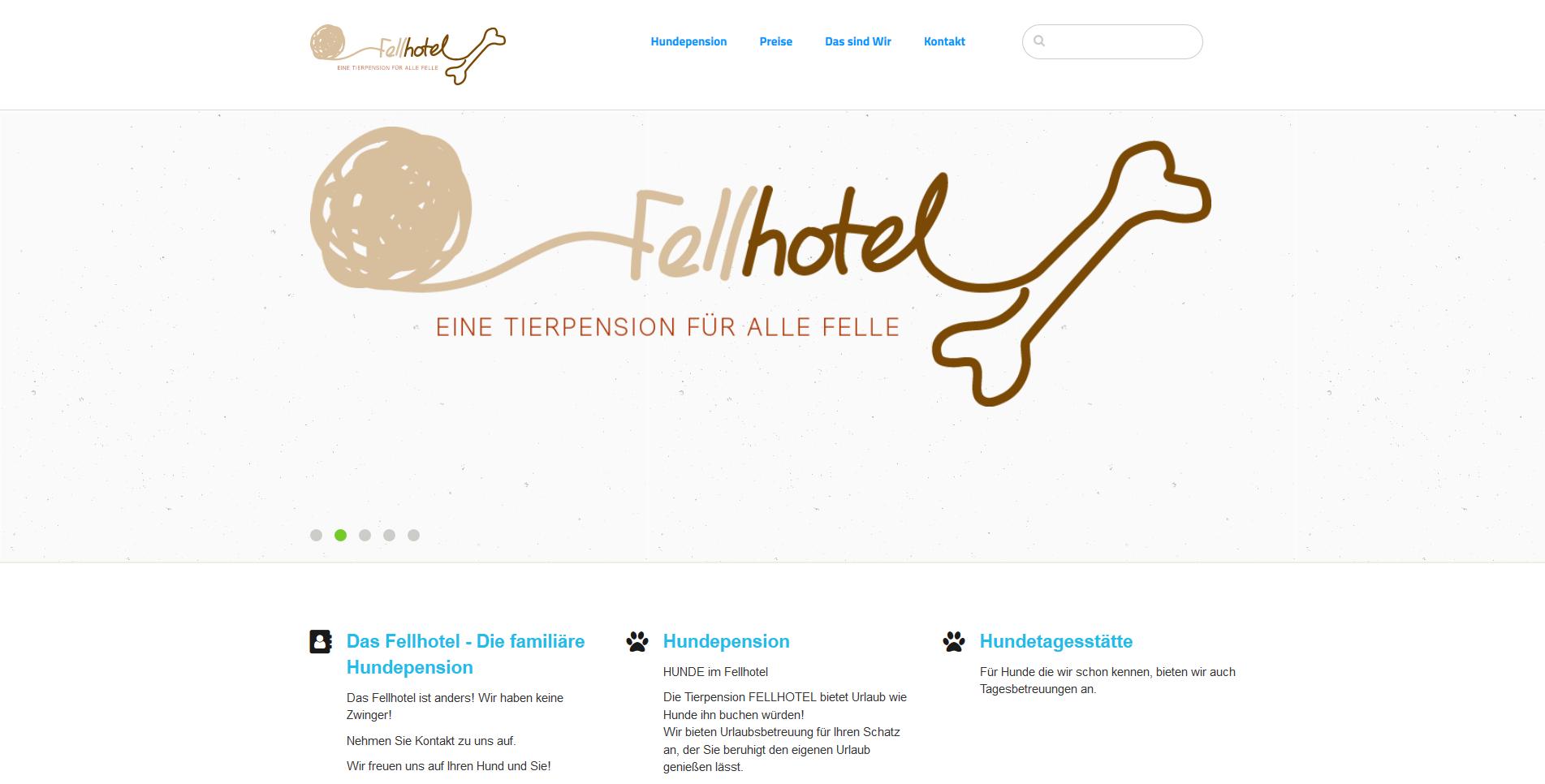 Tierpension Fellhotel
