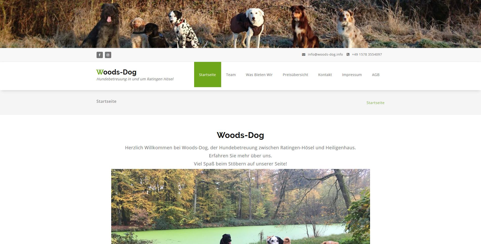 Woods Dog