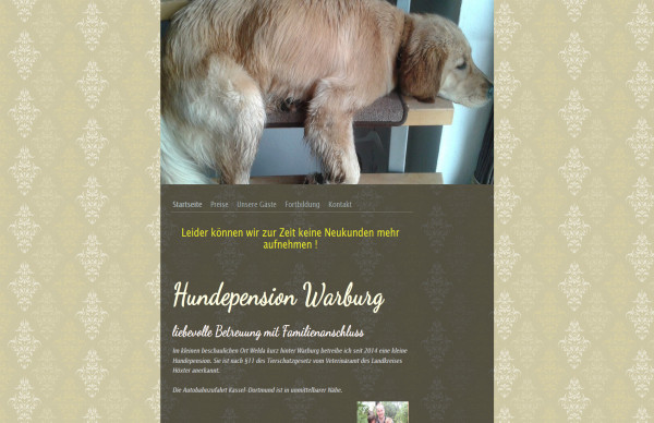 Hundepension Warburg