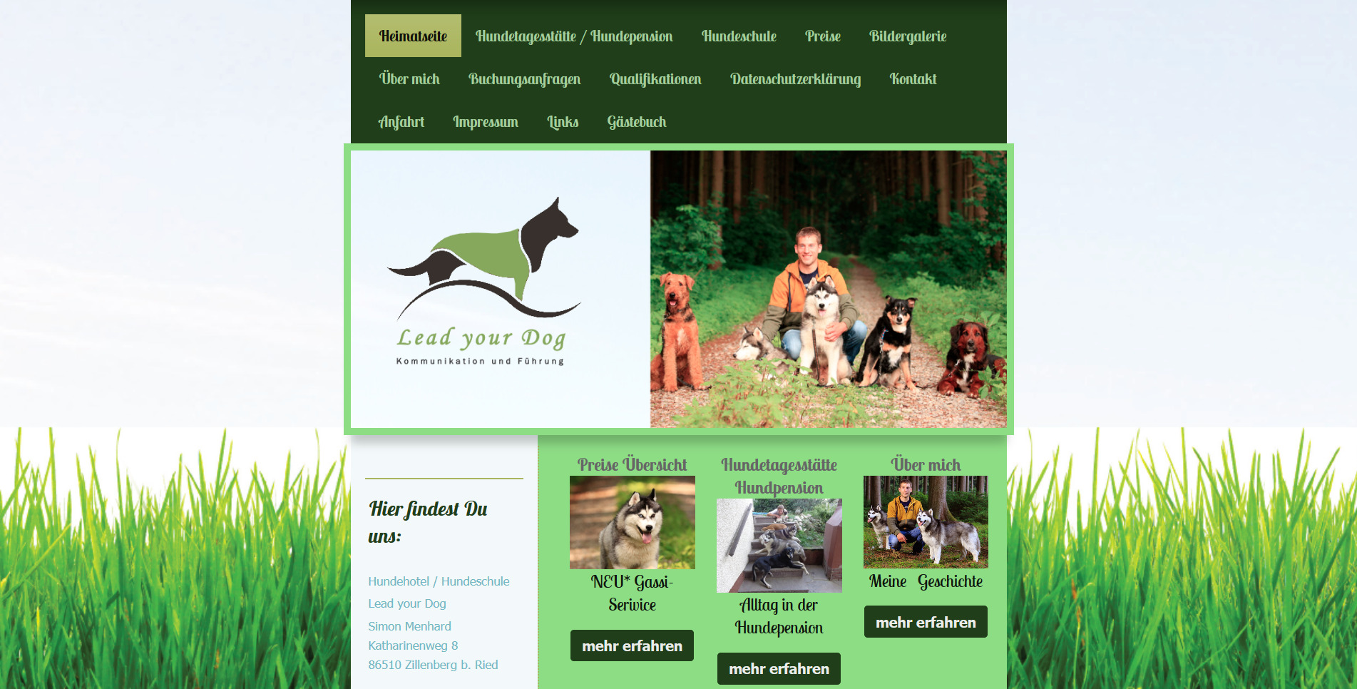 Lead-your-Dog Hundehotel