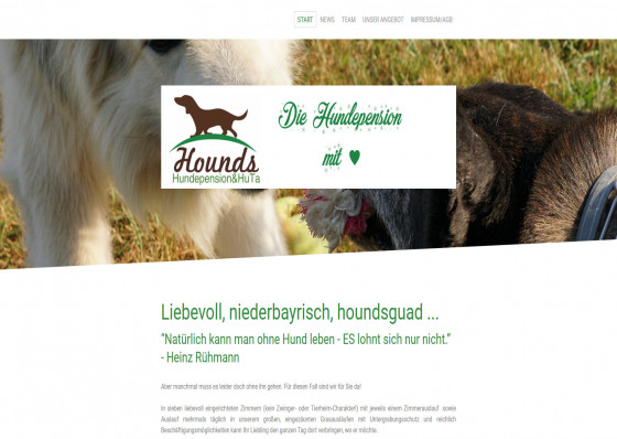 Hounds Hundepension