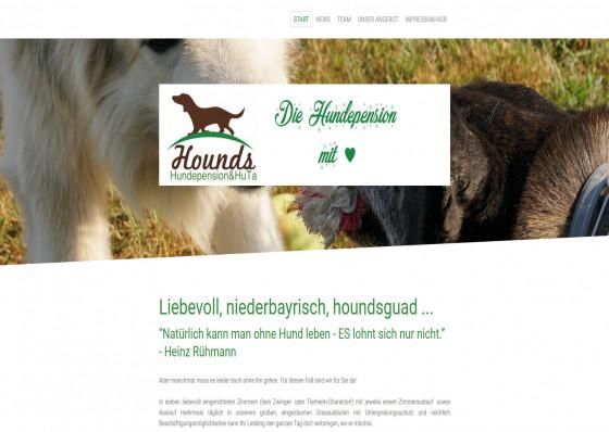 Hounds Hundepension