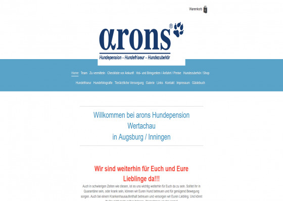 Arons Hundepension