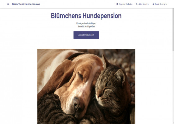 Blümchens Hundepension
