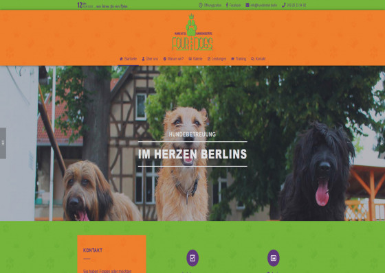 Hundehotel Berlin Four Dogs