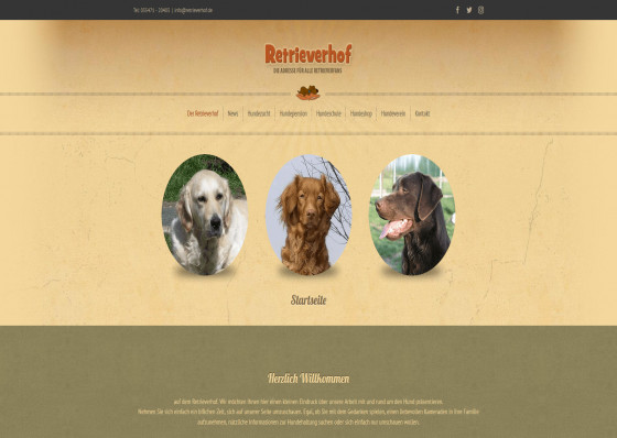 Retrieverhof - Hundepension