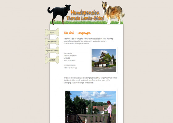 Hundepension Theresia Lemke-Bickel in Alsfeld-Berfa