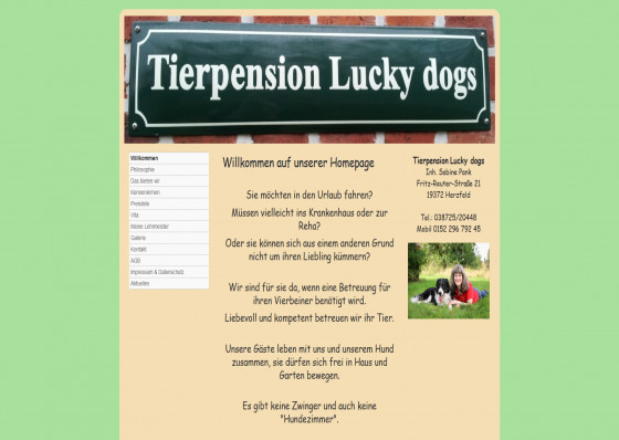 Tierpension Lucky dogs in Herzfeld