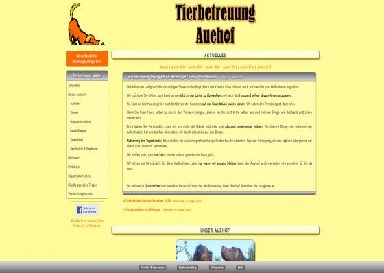 Tierbetreuung Auehof