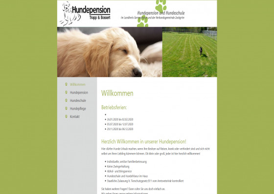 Hundepension Trapp & Bossert