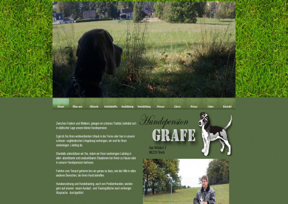 Hundepension Grafe in Trieb