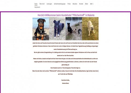 Hundehotel Pfötchentreff