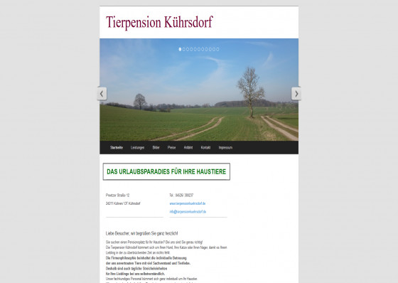 Tierpension Kührsdorf