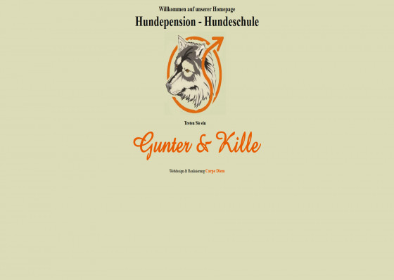 Hundepension Gunter